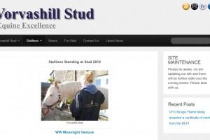 New Website for Vorvashill Stud